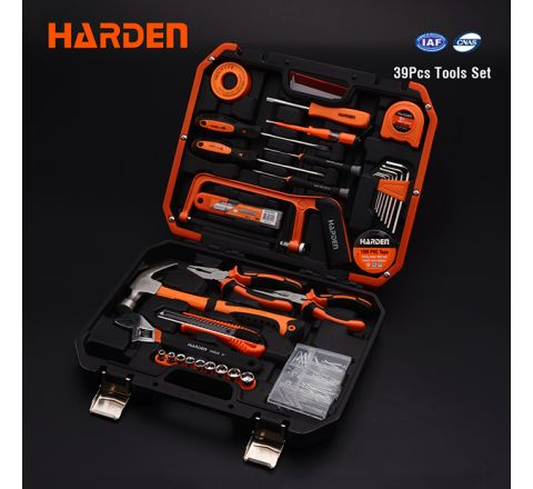 HARDEN TOOLS SET 39PCS SET 511039