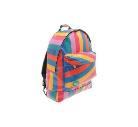 Multi Stripe Back Pack by MI Pac