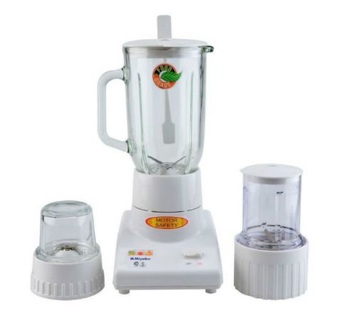 Miyako Blender Glass 1 Liter 3in1 – BL102GS