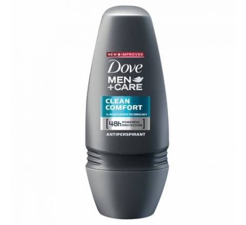 Dove Men +Care Clean Comfort Roll-On Antiperspirant Deodorant 50ml