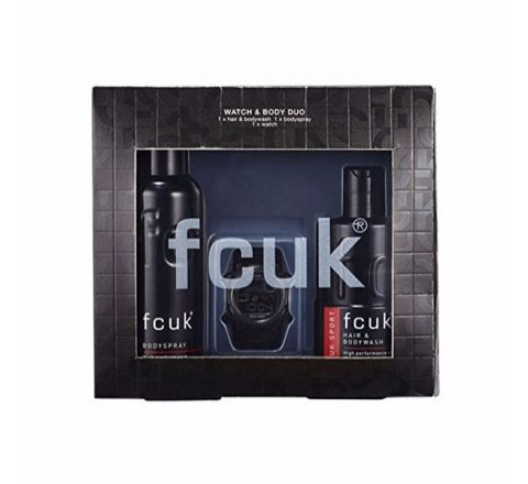 FCUK Watch & Body Duo Gift Set