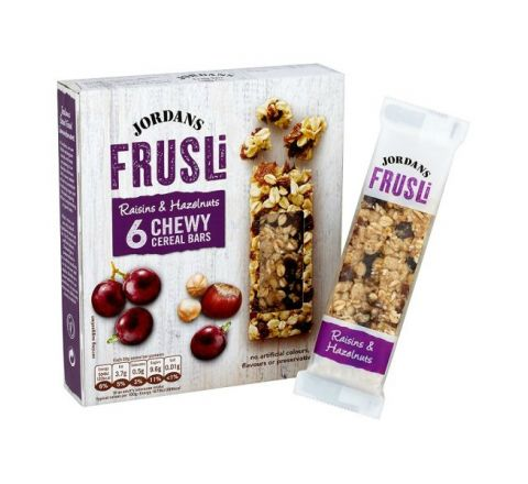 Jordans Frusli Raisin And Hazelnut Cereal Bars - 6 Pack 30g