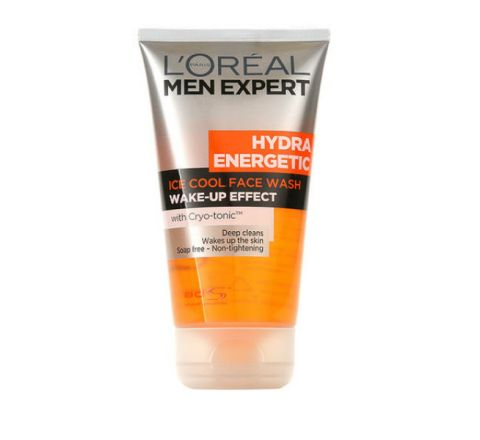 L'Oreal Men Expert Hydra Energetic Ice Cool Face Wash 150ml
