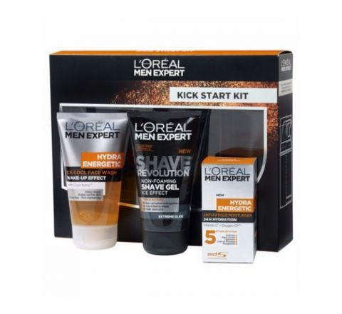 L'Oreal Men Expert Kick Start Kit Gift Set For Him