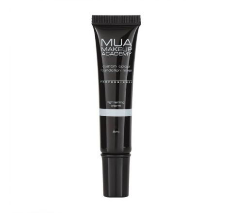 MUA Pro Custom Colour Foundation Mixer Lightening Warm
