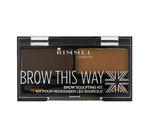 RIMMEL LONDON Brow This Way Brow Sculpting Kit - Dark Brown
