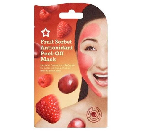 Superdrug Fruit Sorbet Antioxidant Peel-Off Mask