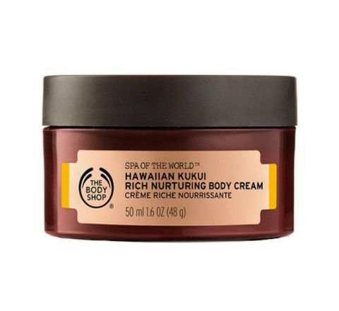 The Body Shop Hawaiian Kukui Rich Nurturing Body Cream - 50ml