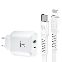 Baseus Type-C Quick Charging PD+USB Adapter