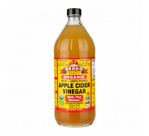 Bragg Organic Apple Cider Vinegar Raw Unfiltered with Mother  946ml