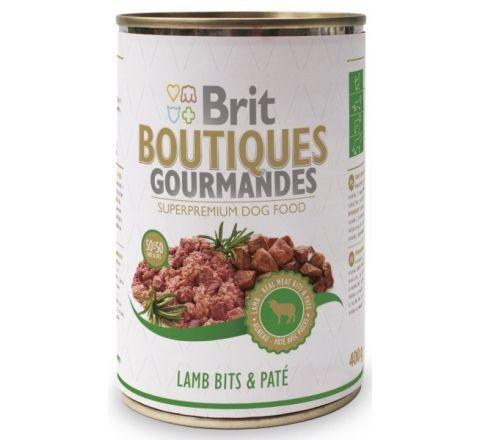 Brit Boutiques Gourmands Lamb Bits & Pate 400gm