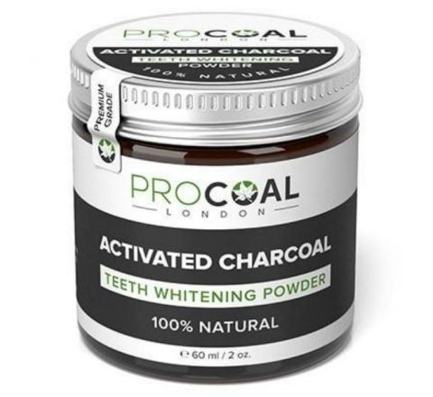 PROCOAL- Activated Charcoal Teeth Whitening Powder