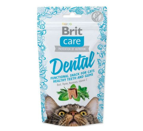 Brit Care Cat Snack Meaty Dental 50g