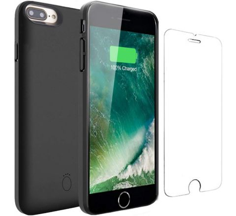 Battery Case for7 Plus- Veepax 7500mAh Ultra Slim Portable Charger Case