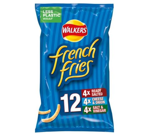 Walkers French Fries Variety 6 Pack