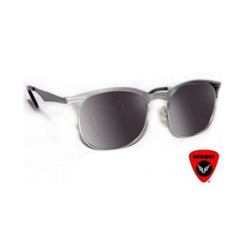 WINGER METAL RING-MASTER SUNGLASS 1 (SILVER)