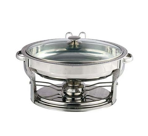 ZEBRA Food Warmer Oval Shap W/Spn 192139