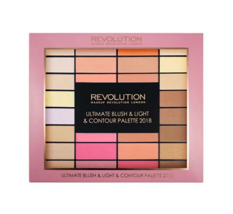 Revolution Blush Light & Contour Palette 2018