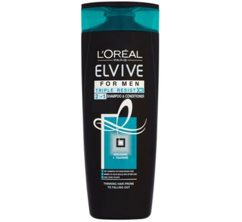 L'Oréal Paris Elvive for Men Triple Resist 2in1 Shampoo & Conditioner