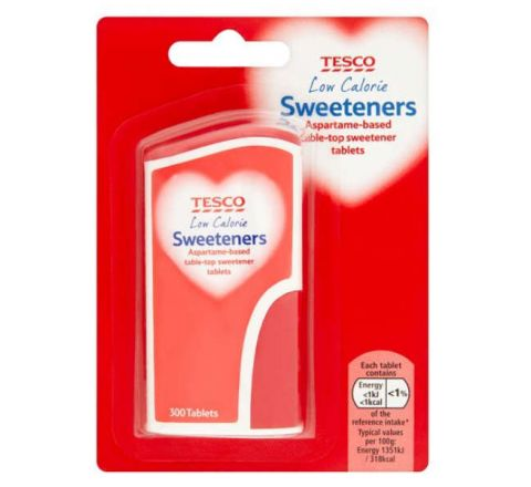 Tesco Tablet Sweeteners 300 Tablets Pack