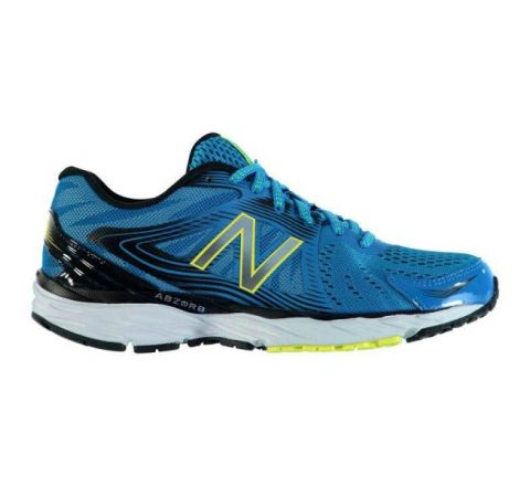 New Balance M680 v4 Mens Running Shoes - Blue Black