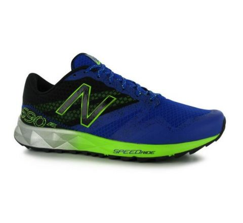 New Balance MT 690 v1 Mens Running Shoes - Blue Lime