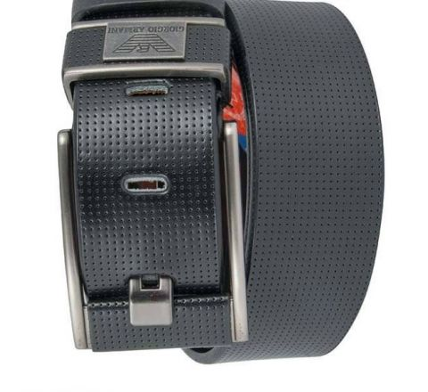 Men's Mixed Leather Formal Waist Belt