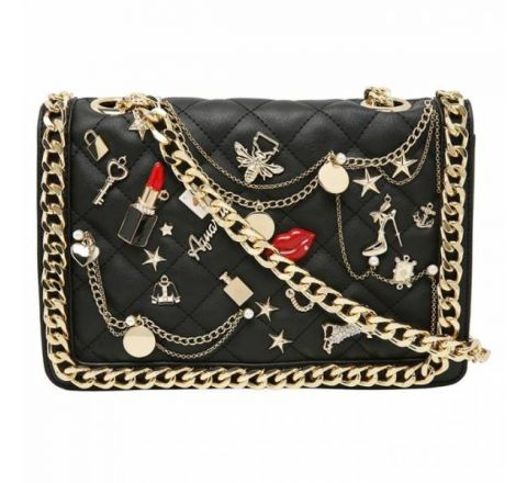 Aldo Lousana Cross Body Handbag, Black