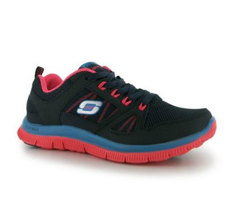 Skechers Flex Appeal Spring Fever Ladies Trainers