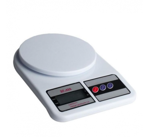 Digital Weight Scale For Food - White