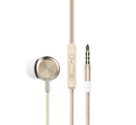 Rock Y2 Stereo Earphone - Gold