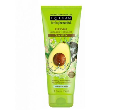 FREEMAN Avocado & Oatmeal Clay Mask 175ml