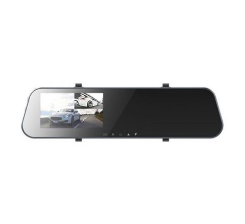 Rock Dash Cam With Rear View Mirror