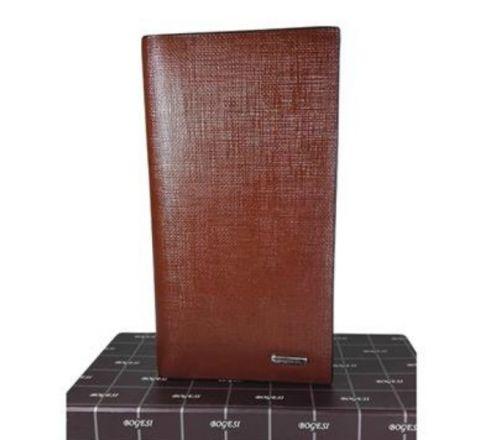 Bogesi Leather Brown Original Wallet for Men