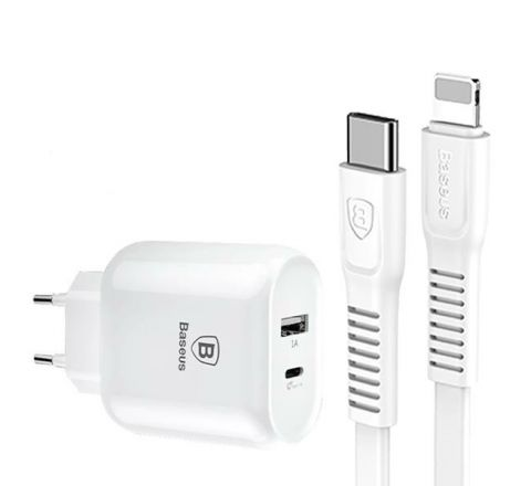 Baseus Type-C Quick Charging PD+USB Adapter