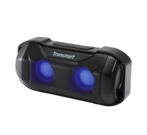 Tronsmart Blaze Bluetooth Speaker 10W IPX56 Waterproof Portable Speaker with Superior Bass & LED Lights