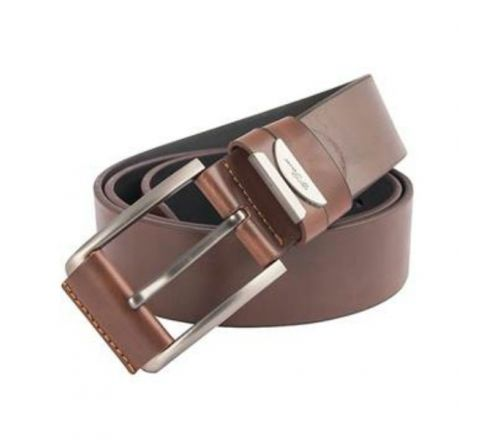 Artificial Leather Waist Belt- Dark coffee