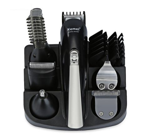 Kemei Professional 6 In 1 Hair Clipper Shaver Sets
