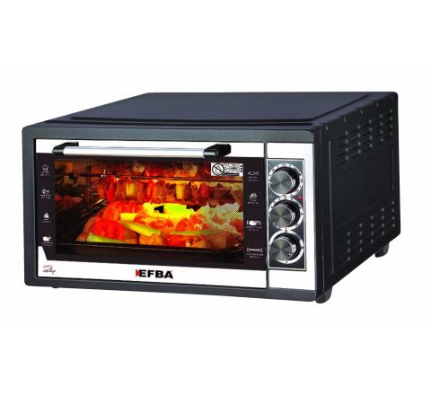 EFBA Electronic Oven Rotisserie & Turbo W Lamp 46L 6004B