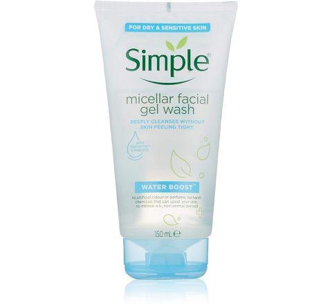 Simple Water Boots Micellar Facial Wash 150ml