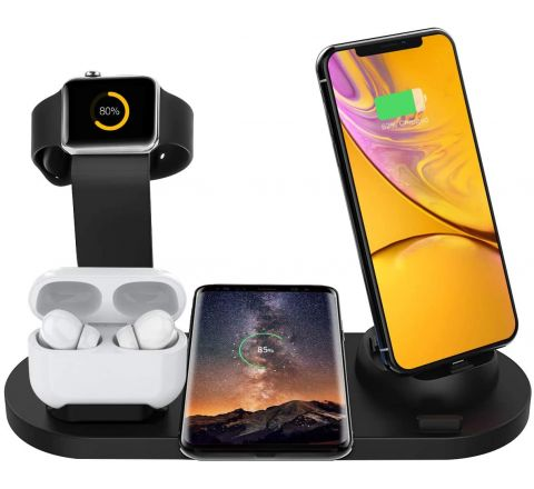 Bestrans Wireless Charger Station - 6 in 1