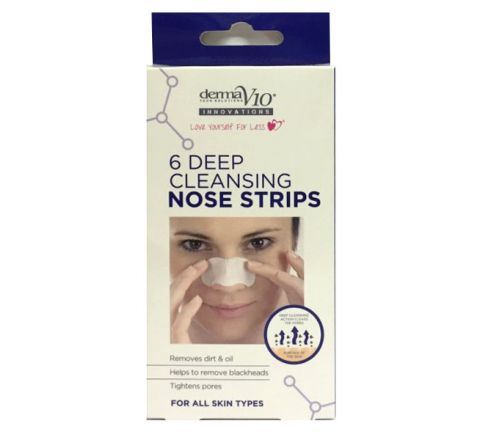 Derma V10 Deep Cleansing 6 Nose Strips