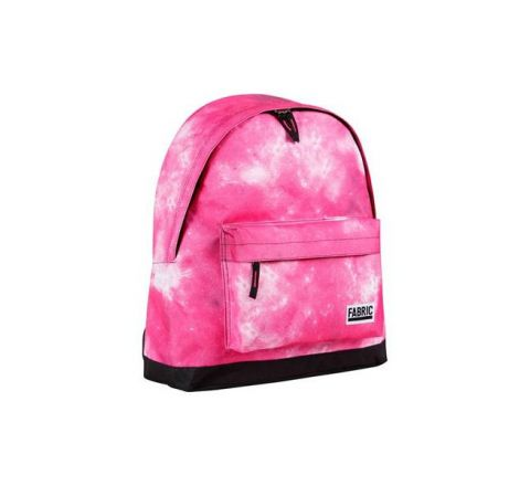Galaxy Fabric Backpack - Pink