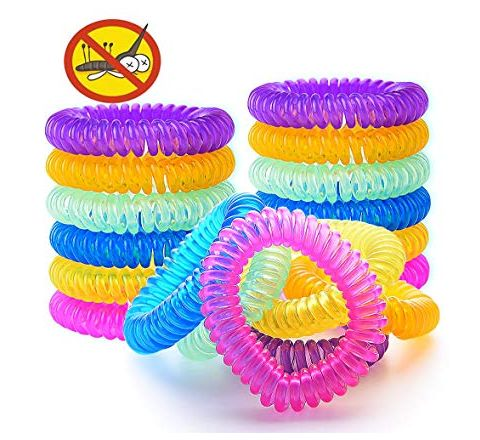 Mosquito Repellent Bracelet Natural Insect Control Waterproof Wrist Bands for Kids and Adults