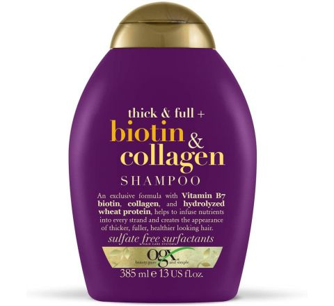 Ogx Thick and Full Biotin and Collagen Volumising Thickening Shampoo, 385ml