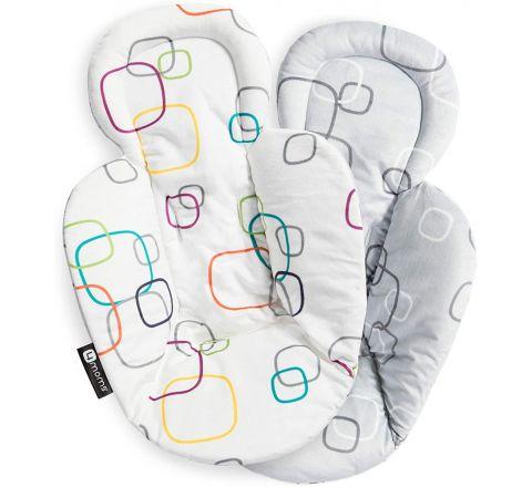 4moms mamaRoo Reversible Newborn Insert, White Grey