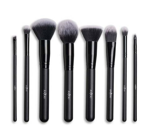 Anjou Makeup Brush Set (8-Pieces)