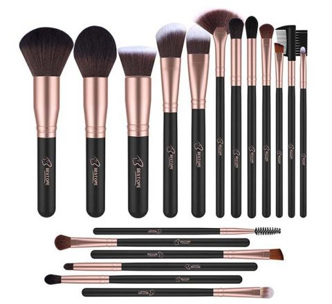 BESTOPE Makeup Brushes Professional Makeup Brush Set 18PCs