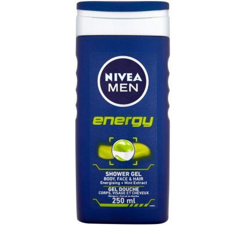 Nivea Men Energy Shower Gel, 250 ml