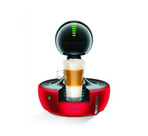 Krups Nescafe Dolce Gusto Drop Touch Coffee Machine - Red